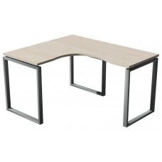 Стол угловой, опора кватро